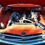 Volvo 144 mit Motor B20 B und 74 kW 100 PS bei 5800 U/min. Leistung