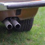 Volvo P1800 ES Heckdetail mit 2-Rohr Auspuffanlage