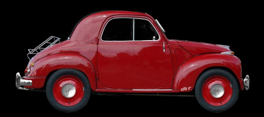 NSU-Fiat Topolino C Poster