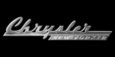 Logo Chrysler New Yorker built 1940