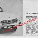 Volvo P1800 S Coupé technische Daten