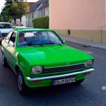Opel Kadett C Coupé in grün