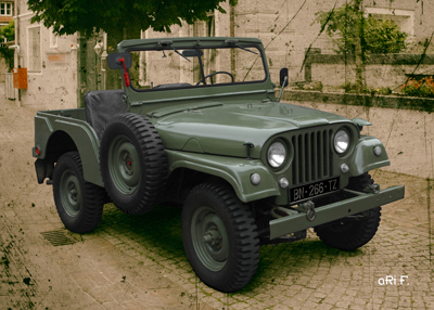 Willys Jeep M38 Typ A1 Poster 2
