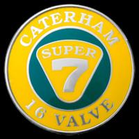 Logo Caterham Super 7 16 Valve
