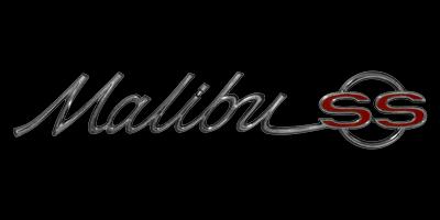 Logo Chevrolet Malibu SS 1964/65