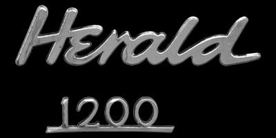 Logo Triumph Herald 1200