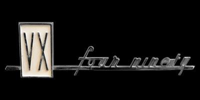 Logo Vauxhall four ninety (1961-1964)