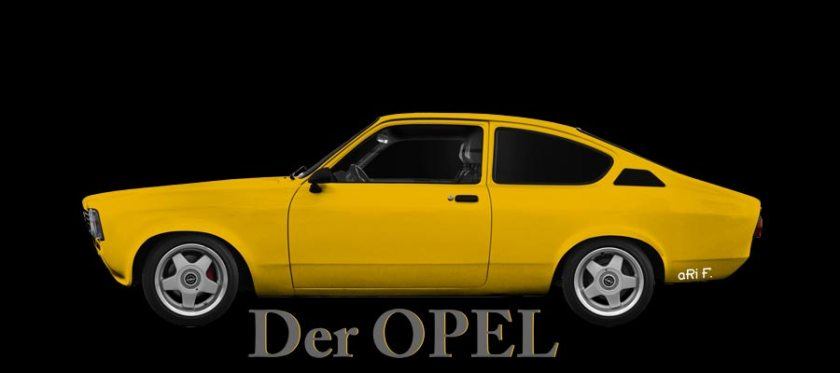 Opel Kadett C Poster by aRi F. (1973–1979)