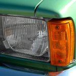 Opel Kadett C Scheinwerfer oberhalb der Stoßfänger aus 2. Serie