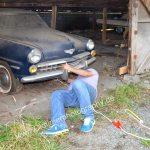 Studebaker Champion Bremsen festegebacken, also abschleppen