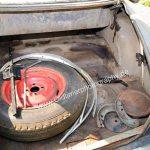 Studebaker Champion Detailansicht in Kofferraum