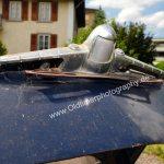 Studebaker Champion Detailbild Kofferraumgriff mit eingebauter Beleuchtung unten