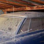 Studebaker Champion Scheunenfund nach mind. 10 Jahren Stillstand fast Zentimeter dick mit Staub bedeckt
