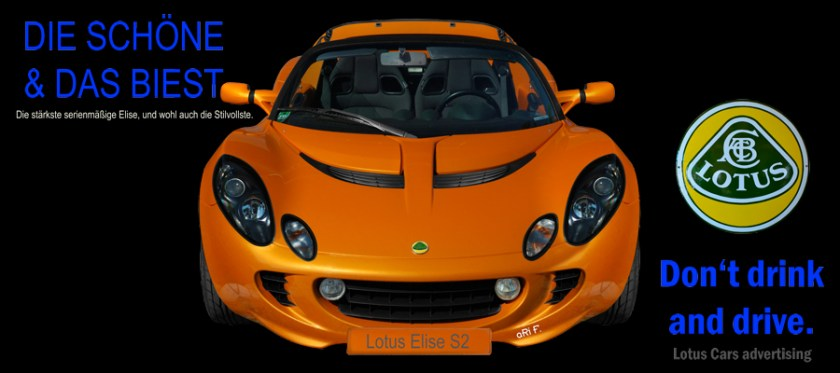 Lotus Elise S2 Poster by aRi F. and www.ohmyprints.com/de