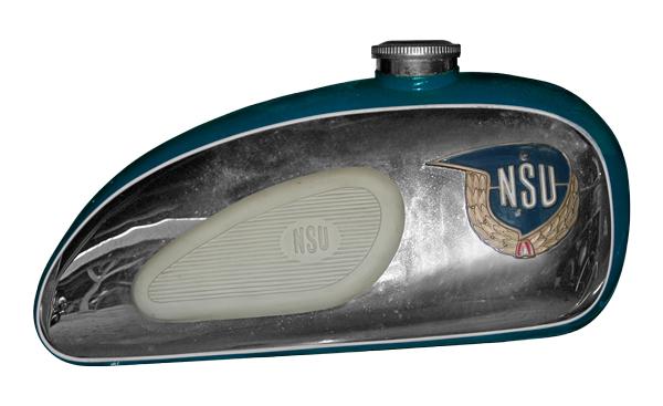 NSU Superfox 125 OSB Benzintank Poster