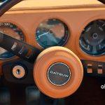 Datsun Sports 1600 Lenkrad und Armaturen