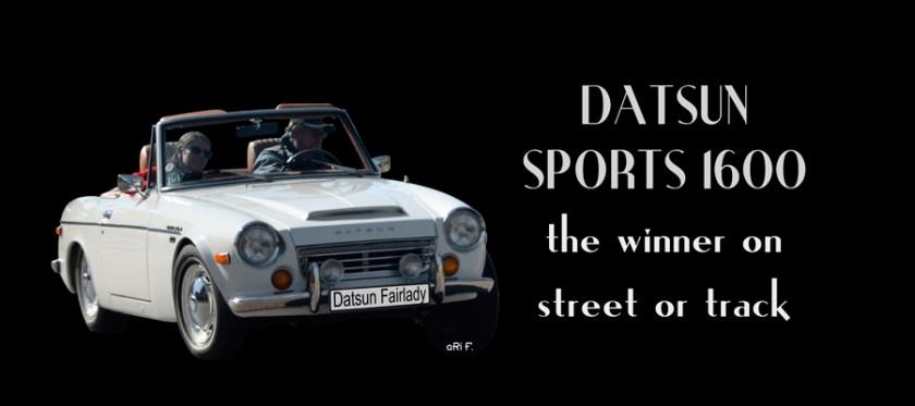 Datsun Sports 1600 / Datsun Fairlady Poster
