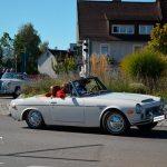 Datsun Sports 1600 bei einer Stadtrallye in Meßkirch