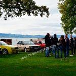 Audi aller Jahrgänge waren mit die ersten am Bodenseeufer vom Strandbad Kressbronn