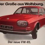 Advert, 1968: Der Große aus Wolfsburg (The big VW from Wolfsbur