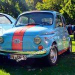 Fiat 500 im GULF-Look lackiert