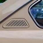 VW 411 Belüftungslamellen in der C-Säule