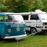 VW Bus T2a Pritsche und VW Bus Typ 2 T3 Campingbus Club Joker