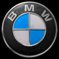 Logo BMW 2002 ti (1968-1972)