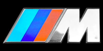 Logo BMW M auf BMW E24 (1975–1989)