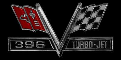 Logo Chevrolet Caprice 396 TURBO-JET
