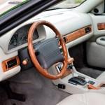 Maserati Quattroporte IV Innenraum mit Lederausstattung und echter Ulmenholzapplikation