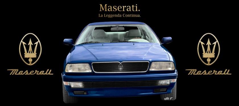 Maserati Quattroporte IV Poster by aRi F.