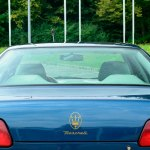 Maserati Quattroporte IV Teilansicht Heck