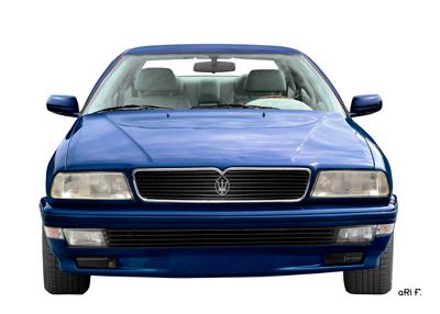Maserati Quattroporte IV Poster in front view