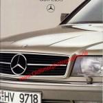 Mercedes-Benz C 126 420 SEC 500 SEC 560 SEC Titelseite von 08/1985