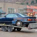 Mercedes-Benz C126 500 SEC AMG V8 Wide-Body und ab nach Hause