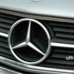 Mercedes-Benz C126 Kühlergrilldetail