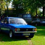 Opel Kadett C in kosmosblau Farbcode K-K