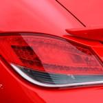 Porsche Boxster Spyder Typ 987 2009–2012 Beleuchtung hinten