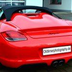 Porsche Boxster Spyder Typ 987 2009–2012 Heckansicht / rear view