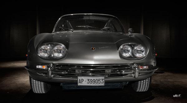 Lamborghini 400 GT 2+2 front view Poster