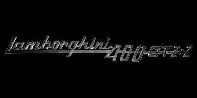 Logo Lamborghini 400 GT 2+2