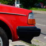 Volvo 240 Kombi in rot Frontdetail