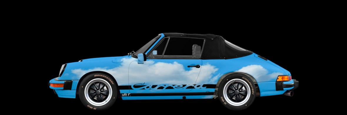 Porsche 911 Carrera Art Car by aRi F.