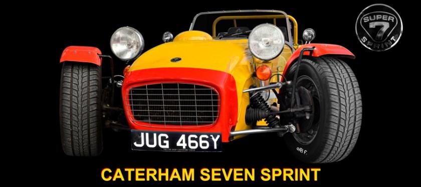 Caterham Super Seven Sprint Poster by aRi F.