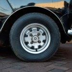 Mini 1000 Super mit Felgen von Leyland Motors