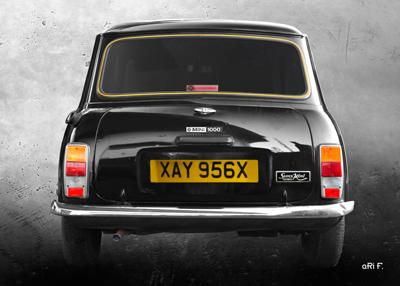 Mini 1000 Super Poster rear view