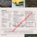 Mini 1000 Advert / Werbung Seite 2 von Juni 1979