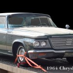 1964 Chrysler Newport Poster photographed by aRi F.