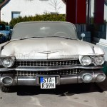 1959 Cadillac Serie 62 in white color